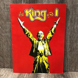 The King and I souvenir Play book